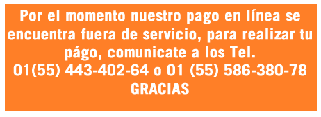 Llamanos al 58-638-078 o al 44-340-264